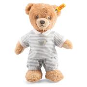 Steiff Schlaf Gut Bär, grau, 25 cm