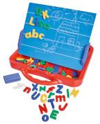 Simba Art & Fun ABC Magnettafel im Koffer