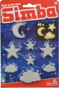 Simba Glow in the dark Mond/Sterne/Wolken