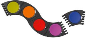 Faber-Castell Faber C. Farbkasten Connector 12 Farben