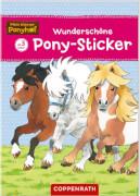 Wunderschöne Pony-Sticker - Mein kleiner Ponyhof