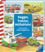 Ravensburger 43407 Bagger, Traktor, Müllabfuhr!