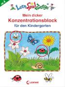 Loewe Lernspielzwerge Schreibblock Mein dicker Konzentrationsblock Kiga
