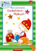 Mein schönstes Funkelstern-Malbuch, Sandmännchen, Mini-Künstler, Broschur, 24 Seiten, ab 4 Jahren