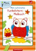 Mein schönstes Funkelstern-Malbuch, Eulen, Mini-Künstler, Broschur, 24 Seiten, ab 4 Jahren