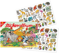 Stickeralbum Zoo