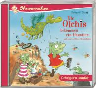 Die Olchis bekommen ein Haustier und eine weitere Geschichte (CD), Kinderhörbuch, 49 Minuten, ab 4 Jahren